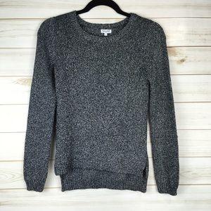 Splendid Girl's Lurex Crew Neck Sweater
